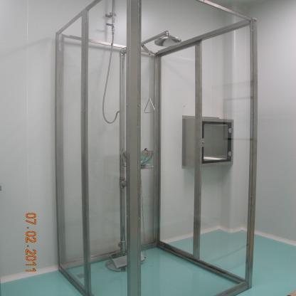 ห้องน้ำเพื่อความปลอดภัย สำหรับห้องทดลอง