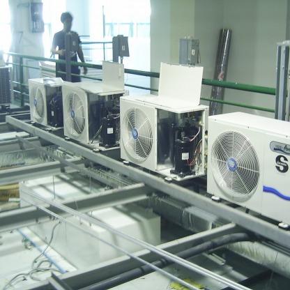 ระบบปรับอากาศแบบแยกส่วน (ท่อน้ำยา) คอยล์ร้อน Condensing Unit